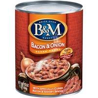 B&M Bacon & Onion Baked Beans, 16 Ounce