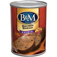 B&M B&M Raisin Brown Bread, 16 Ounce