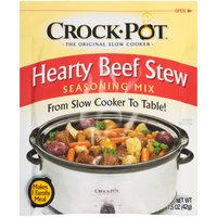 Crock Pot Hearty Beef Stew Seasoning Mix, 1.5 Ounce