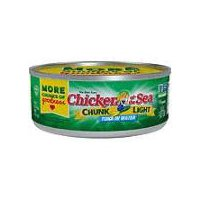 Chicken of the Sea Tuna - Chunk Light In Water, 5 Ounce