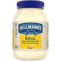 Hellmann's Real Mayonnaise is proudly made with real, simple ingredients like cage free eggs*, responsibly sourced oils and vinegar. It's simple.