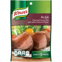 Knorr Gravy Mix Au Jus (0.6oz) allows you to create the traditional taste of Au Jus with any meal. Perfect paired with steak or over mashed potatoes.