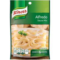 Knorr Pasta Sauce Alfredo (1.6oz) is a velvety mix of cheeses that can enhance everything from pasta to veal. A perfect sauce for any occasion, it works wonders in dishes like our Lobster Bisque.