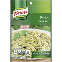 Knorr Pasta Sauce Pesto (0.5oz) is a classic combination of Parmesan cheese, basil, and garlic. A perfect sauce for any occasion, it works wonders in dishes like our Chicken Pesto Pasta Salad.