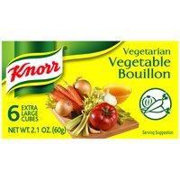 Knorr Bouillon Cubes Vegetable, 2.1 Ounce