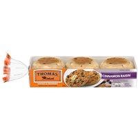 Thomas' Cinnamon Raisin English Muffins, 6 count, 13 Ounce