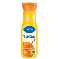 Tropicana Juice - Pure Orange with Calcium & Vitamin D, 12 Fluid ounce