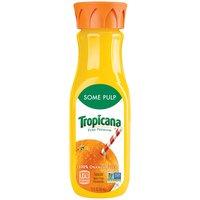 Tropicana Juice - Orange Some Pulp, 12 Fluid ounce