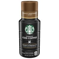 Starbucks Lightly Sweetened for Flavor Iced Coffee, 48 Fluid ounce