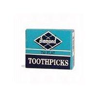 Diamond Brands Flat Toothpicks, 750 Each