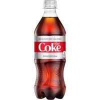 Diet Coke Diet Coke Soda - Single Bottle, 591 Millilitre