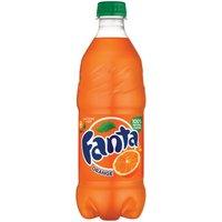 Fanta Fanta Orange Soda Bottle, 20 Fluid ounce