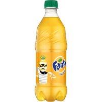 Fanta Fanta Pineapple Soda Bottle, 20 Fluid ounce