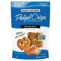 Pretzel Crisps Original Deli Style Pretzel Crackers, 14 Ounce