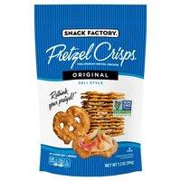 Pretzel Crisps Original Deli Style Pretzel Crackers, 7.2 Ounce