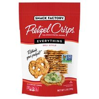 Pretzel Crisps Everything Deli Style Pretzel Crackers, 7.2 Ounce