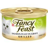 Purina Purina Grilled Salmon Feast in Gravy 3 oz. Can, 3 Ounce