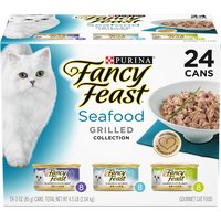 Purina Purina Grilled Seafood Feast Variety 24-3 oz. Cans, 4.5 Pound