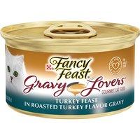 Purina Fancy Feast Gravy Lovers Wet Cat Food Purina Fancy Feast Gravy Lovers Wet Cat Food Turkey Feast 3 oz. Can, 3 Ounce
