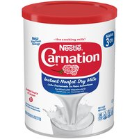 Carnation Instant Nonfat Dry Milk, 9.63 Ounce