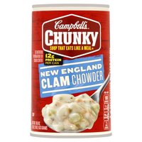 Enjoy the savory flavor of this classic new england recipe. Get ready for big pieces of clams and potatoes. It fills you up right. Soup that eats like a meal.
