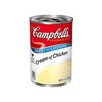 Campbell's® Condensed Condensed Cream of Chicken Soup, 10.5 Ounce