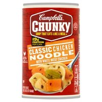 Campbell's® Chunky™ Classic Chicken Noodle Soup, 18.6 Ounce