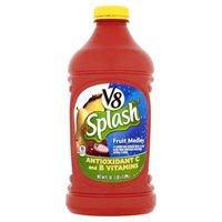 V8® Splash® Fruit Medley - Single Plastic Bottle, 64 Fluid ounce