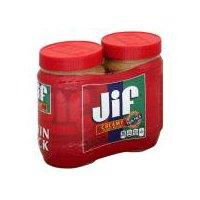 Jif Peanut Butter - Creamy - Twin Pack, 2 Each