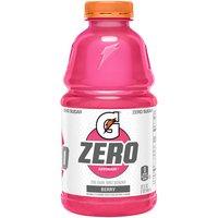 Gatorade G Zero Thirst Quencher Berry, 32 Fluid ounce