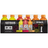 Gatorade Thirst Quencher Variety Pack - 18 Pack Bottles, 216 Fluid ounce