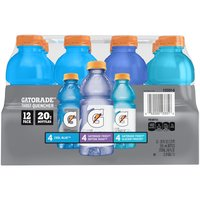 Gatorade Flavor Variety 12 Pack Thirst Quencher Series, 240 Fluid ounce