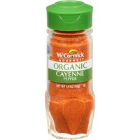 McCormick Gourmet McCormick Gourmet Organic Cayenne Red Pepper, 1.5 Ounce