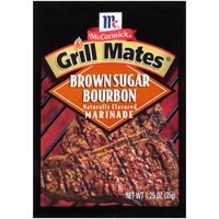 An enticing blend of sweet brown sugar, bourbon, red bell peppers and spices that perfects your favorite meats and shows off your grilling skills