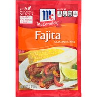 McCormick Fajitas Seasoning, 1.12 Ounce