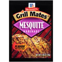 Fire up the grill for this bold, slightly sweet blend of garlic, onion, red pepper and natural flavor from mesquite smoke.