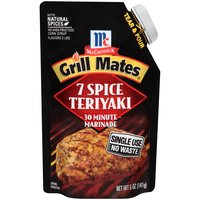 McCormick Grill Mates 7 Spice Teriyaki Single Use Marinade, 5 Ounce