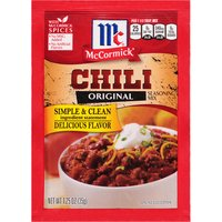 Chili night just got easier and more delicious! Simply stir in these signature seasonings to your favorite chili recipe, and serve up a hearty, homemade meal everyone will love.