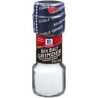 The salt crystals in McCormick Sea Salt Grinder are naturally harvested from the French Mediterranean. The adjustable grinder conveniently offers a coarser grind for seasoning meats or a finer grind for dishes like pasta or eggs.