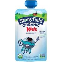 Stonyfield Organic Kids Blueberry Low Fat Yogurt, 3.5 Ounce