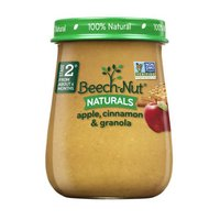 Beech-Nut Beech-Nut Naturals Stage 2 Apple, Cinnamon & Granola, 4 Ounce