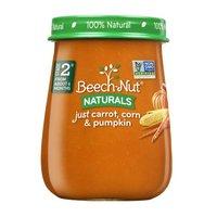Beech-Nut Beech-Nut Naturals Stage 2 Just Carrot, Corn & Pumpkin, 4 Ounce
