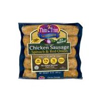 Thin 'n Trim Spinach Sausage, 10 Ounce