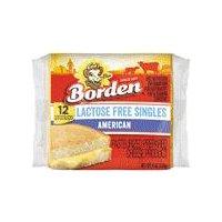 Borden American Cheese - Singles, 8 Ounce