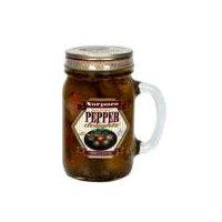 Packed in canola oil (extra virgin olive oil), vinegar, garlic, flavorings, lemon juice.