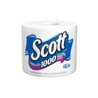 Scott Scott Bath Tissue - Single Roll White Unscented, 1 Each