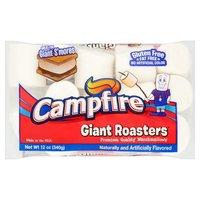 Campfire Giant Roaster Mashmallows, 12 Ounce