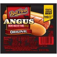 Ball Park Angus Beef Hot Dogs, Original Length, 14 Ounce