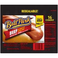Ball Park Ball Park Beef Hot Dogs, Original Length, 30 Ounce