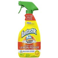 Fantastik Scrubbing Bubbles All Purpose Cleaner Lemon, 32 Fluid ounce